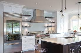 use glass throughout your kitchen