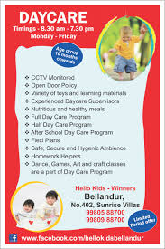 Childcare Flyers Daycare Flyers Ohye Mcpgroup Co