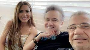 انظر .. مصطفى الأغا يحرج مروان خوري وصديقته!