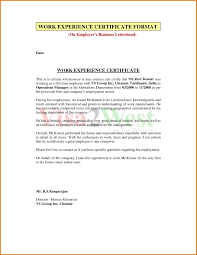 Training Certificate Format In Doc New Resume As Training