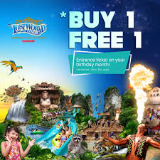 Free Tiket Sunway Pals Promotions Buy 1 Adult Free 1 Adult Entrance