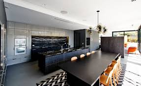 black marble countertops home