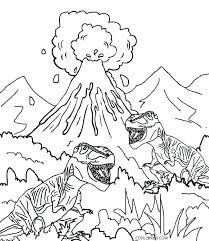 Dinosaur Free Coloring Pages Dinosaur Coloring Pages For