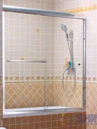 semi frameless sliding bath door euro