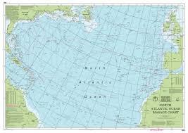 Imray Chart 100 100 North Atlantic Ocean Passage Chart Imray Chart