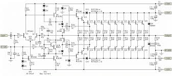 high power amplifier 1500w transistor hubby project serves about amplifier circuit schematic diagram you can search here and many more electronics project power amplifier circuit diagram