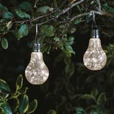 decorative solar lighting. Smart Solar Eureka! Neo Glass Silver Stellar Lightbulb Decorative Lighting