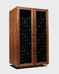 Cabinet With Wine Cooler Vinotheque 330 Venetian Wine Refrigerator Cabinet