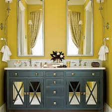 Cool Yellow Bathroom Powerful And Pretty Yellow Bathroom Design - Yellow and white bathroom