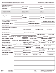 Homeowners Insurance Quote Online Adorable How To Fill In A Quotation Fill Online Printable Fillable Blank