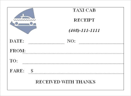 Taxi Bill Format Free Download Taxi Receipt Template Usa Taxi Receipt Form Printable Tax Receipt