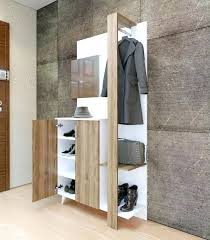 Coat Rack Cabinet Cool Shoes And Coat Rack Coat And Shoe Rack Can Your Closet Allow You To