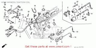 honda cb125td superdream 1988 j england wire harness ignition wire harness ignition coil schematic