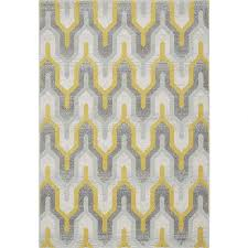 geometric rug yellow grey 14 hover to zoom