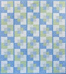 Stroll a modern quilt pattern and home decor project by Kate Cool Quilt Patterns