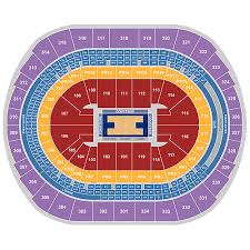 Described Section 114 Staples Center Los Angeles Lakers