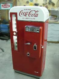 Old Soda Vending Machines Cool Coke Machine Restoration CocaCola Machine Restoration Vintage
