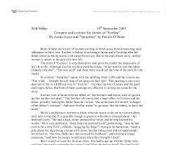 argumentative essay on eveline by james joyce essay writing  essay high school life