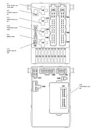 mercury blower motor fuse location questions & answers (with 2000 mercury mystique owner's manual at 99 Mystique Fuse Box Engine Compartment