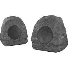 innovative technology rock outdoor bluetooth speakers pair gray itsbd 358p5 best