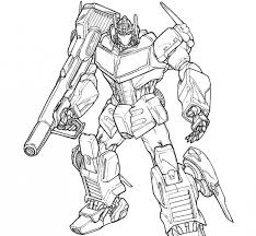 Small Picture Fashionable Design Ideas Transformers Optimus Prime Coloring Pages