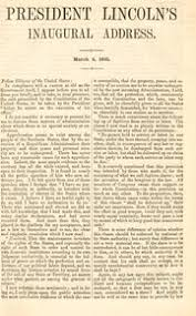 At this second appearing to take the oath of the presidential office, there is less occasion for an extended address than there was at the first. President Lincoln S Inaugural Address March 4 1861 Lincoln Abraham 1809 1865 Free Download Borrow And Streaming Internet Archive