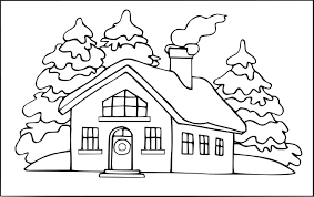 Coloriage Maison For T Imprimer Sur Coloriages Info