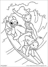 Lilo And Stitch Coloring Educational Fun Kids Coloring Pages And