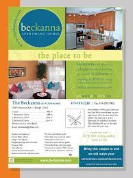 Apartment Book Flyers Debra Lane Designs
