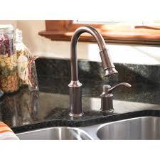 Moen Aberdeen Kitchen Faucet Moen 7590 Aberdeen 1 Handle Kitchen Faucet With Pullout Spout
