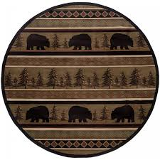 elephant area rug oriental weavers sphinhudson 1066a black beige area rug rectangular middot round middot runner middot closeup