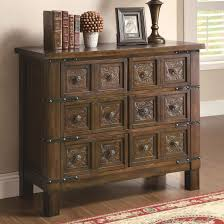accent cabinets rustic brown accent cabinet with  drawers