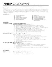 Management Resume Modern Free Project Manager Resume Template Microsoft Word Project Manager