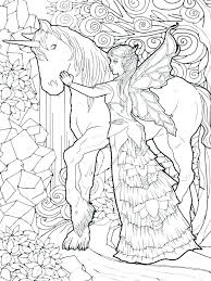 Free Fairy Coloring Pages For Adults Fairy Printable Coloring Pages