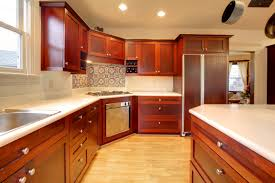 Medium Oak Kitchen Cabinets Cabinet Modernizing Oak Kitchen Cabinet