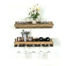 wine glass rack plans. Wall Mounted Wine And Glass Rack Rustic . Plans S