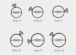 Ring Size Chart Online Sizing Rings Online Images