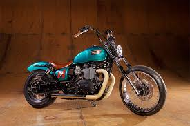 make your own triumph bobber with british customs parts