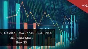 S&P 500, Nasdaq, Dow Jones and Russell ...