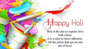Happy Holi Quotes In English Short Inspirational Meaningful Holi Status
