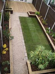 Attractive Design Back Garden Back Garden Landscaping Ideas Buddyberries