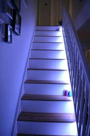staircase lighting led. Sophisticated Led Stair Lights Stairwell Lighting If You Want Effective But Prefer A . Staircase
