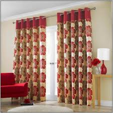 living room decor red sunset scenery striped colored with cream and red living room curtains chic living room curtain