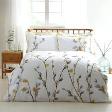 by willow digitally printed cotton duvet cover and pillowcase 100 covers argos set 0106319