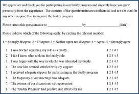 Orientation Feedback Form Amazing Implementing A Buddy System In The Workplace