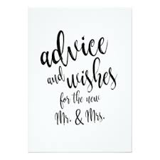 wedding advice cards zazzle Wedding Congratulations Sign advice and wishes affordable wedding sign card wedding congratulations printable sign