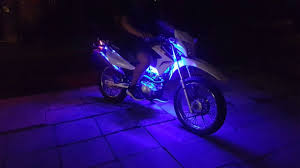 How To Install Led Lights On A Motorcycle How To Install Led Strip Lights On A Bike