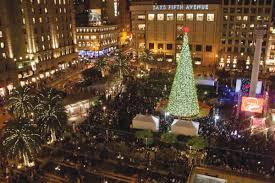Sf Union Square Tree Lighting Nov 27 28 Macys Tree Lighting Winter Walk Bay Street