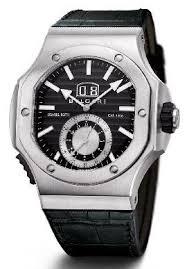 amazon com bvlgari edurer chronospirit black dial black leather bvlgari edurer chronospirit black dial black leather mens watch bre56bsldchs