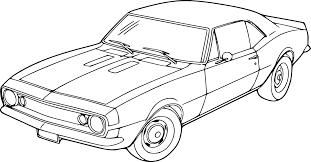Coloriage Voiture Chevrolet Imprimer